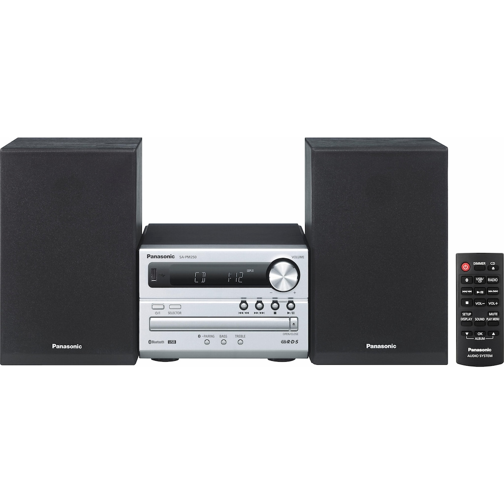 Panasonic Kompaktanlage »SC-PM250«, Bluetooth