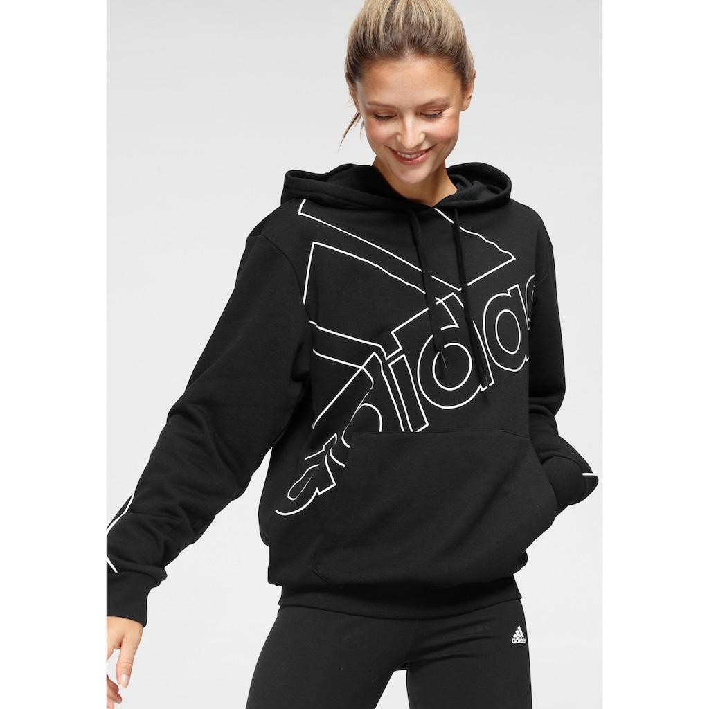 adidas Performance Kapuzensweatshirt »ESSENTIALS GIANT LOGO HOODIE«