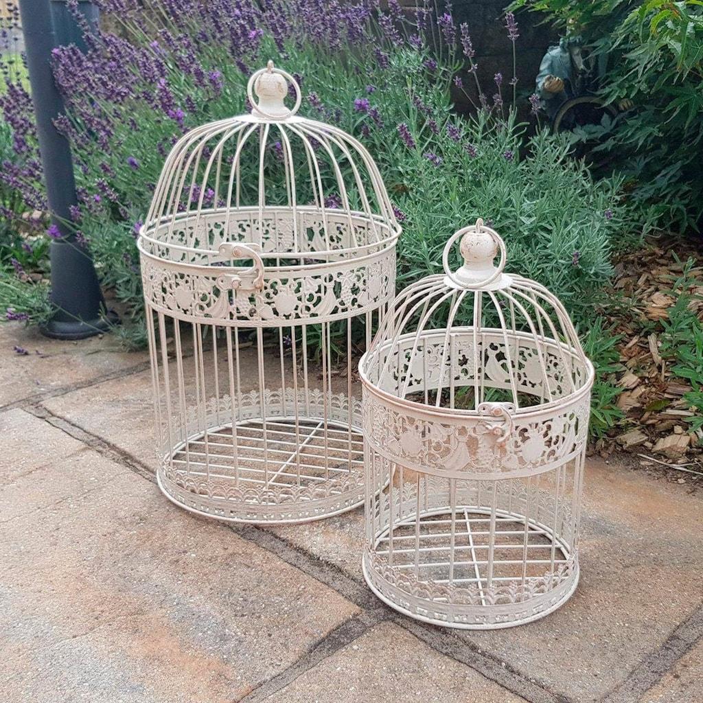 Ambiente Haus Vogelkäfig, 2er Set Outdoor geeignet