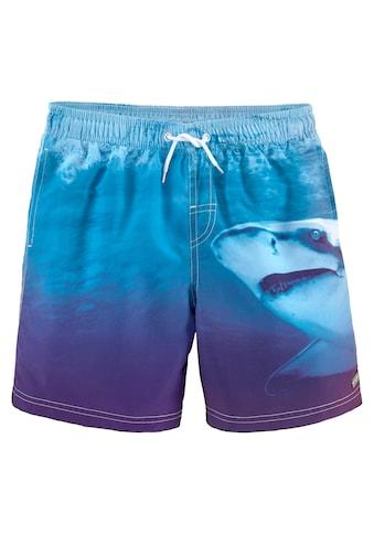 Buffalo Badeshorts, mit Hai-Druck kaufen