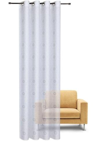 Gerster Vorhang »Gian«, HxB: 235x140, Moderner Ösenschal bedruckt kaufen
