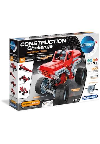 Clementoni® Experimentierkasten »Galileo - Construction Challenge - Monster Truck«,... kaufen