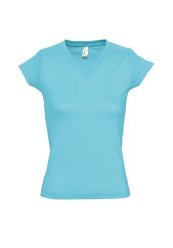 SOLS V-Shirt »Moon Damen T-Shirt, Kurzarm, V-Ausschnitt« kaufen