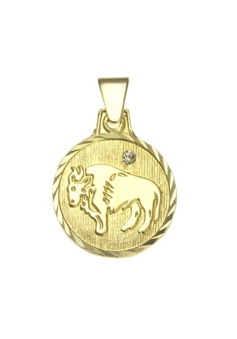 Vivance Kettenanhänger »333/- Gelbgold«, Anhänger Sternzeichen Stier kaufen