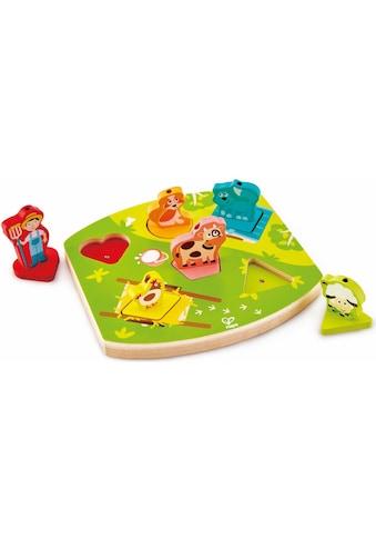 """Hape Puzzle """"Bauernhof - Geräusche - Puzzle"""" kaufen"""