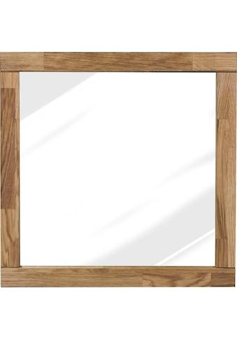 Home affaire Wandspiegel »Faleria«, aus Eiche massiv, Breite 60 cm kaufen