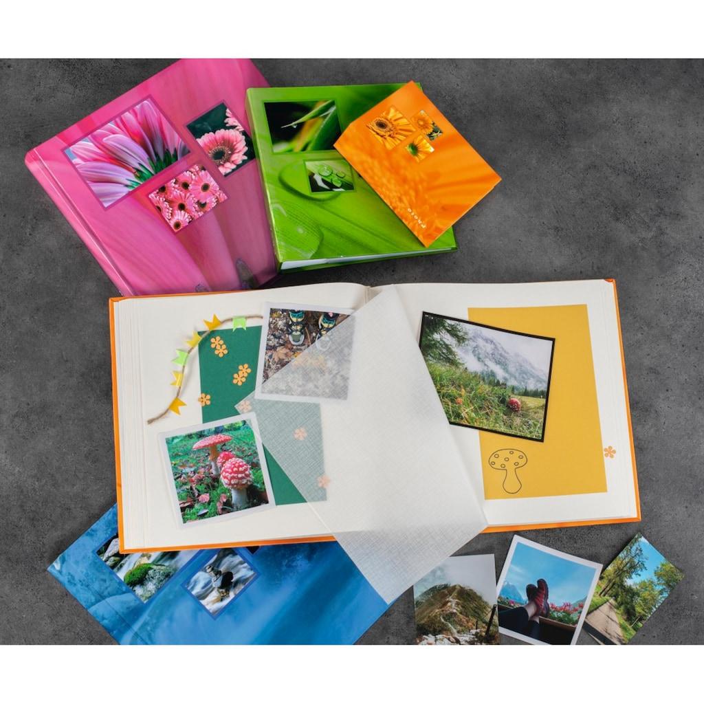 Hama Jumbo Foto Album, Photobuch, 30x30, 100 weiße Seiten Aqua