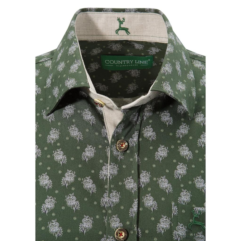 Country Line Trachtenhemd, in gerader Passform