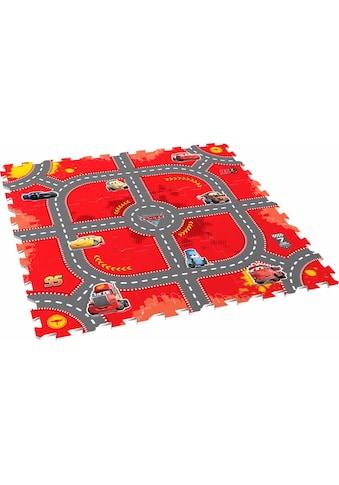 Knorrtoys® Puzzle »Disney/Pixar Cars, Modular Race«, Puzzlematte, Bodenpuzzle kaufen