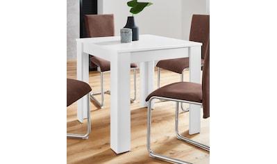 Homexperts Esstisch »Nick«, Breite 80 cm kaufen