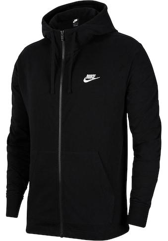 Nike Sportswear Kapuzensweatjacke »Club Men's Full - zip Jersey Hoodie« kaufen