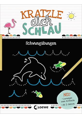 Buch »Kratzle dich schlau - Schwungübungen / Loewe Kratzel-Welt, Corina Beurenmeister« kaufen