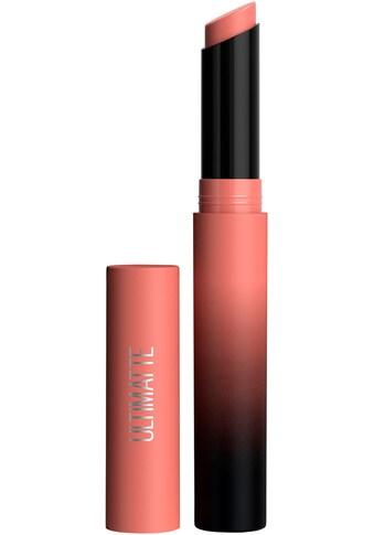 MAYBELLINE NEW YORK Lippenstift »Color Sensational Ultimatte« kaufen