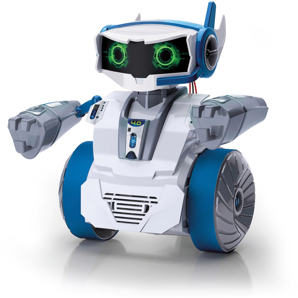 Clementoni® Modellbausatz »Galileo - Cyber Talk Roboter«, Made in Europe