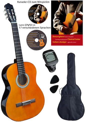 Clifton Konzertgitarre »Clifton-Konzertgitarre«, 3/4, Komplettset kaufen