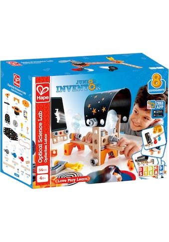 Hape Konstruktions-Spielset »Junior Inventor Optisches Labor«, (54 St.) kaufen