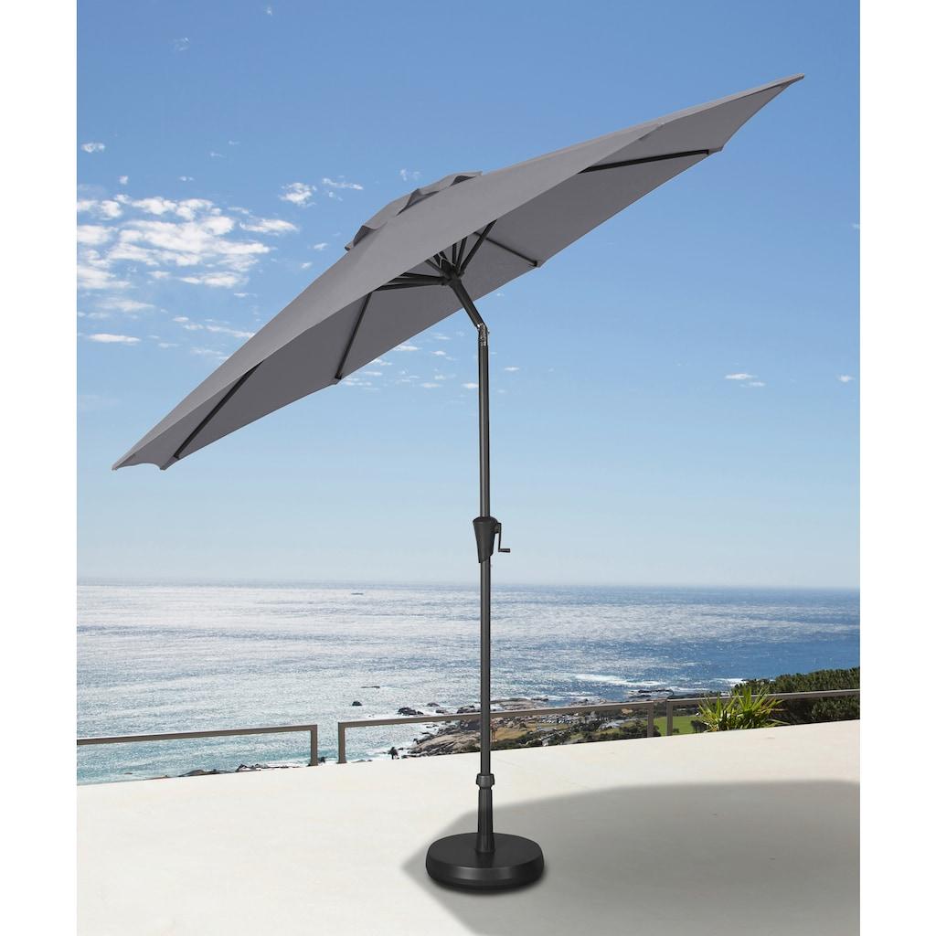garten gut Ampelschirm, abknickbar, ohne Schirmständer