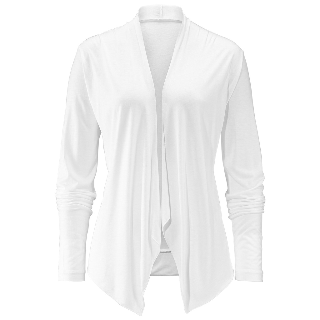 LASCANA Shirtjacke, in offener Form