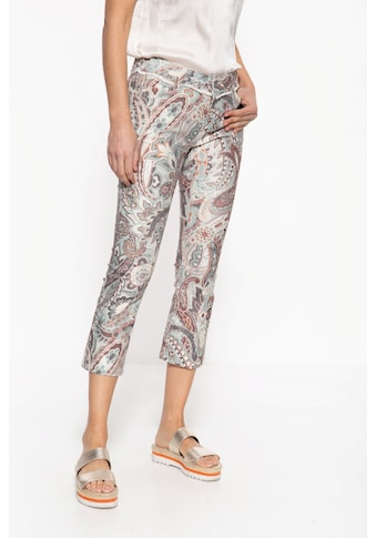 ATT Jeans 7/8-Jeans »Brenda«, mit auffälligem Paisley-Muster kaufen