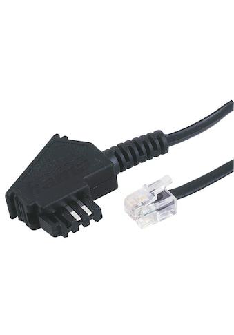 Hama Telefonkabel, TAE-F-Stecker - Modular-Stecker 6p4c, 10 m kaufen