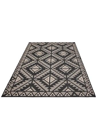 my home Teppich »Timea«, rechteckig, 7 mm Höhe, In-und Outdoor geeignet, Wendeteppich,... kaufen