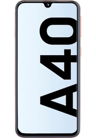 Samsung Galaxy A40 Smartphone (14,92 cm / 5,9 Zoll, 64 GB, 16 MP Kamera) kaufen