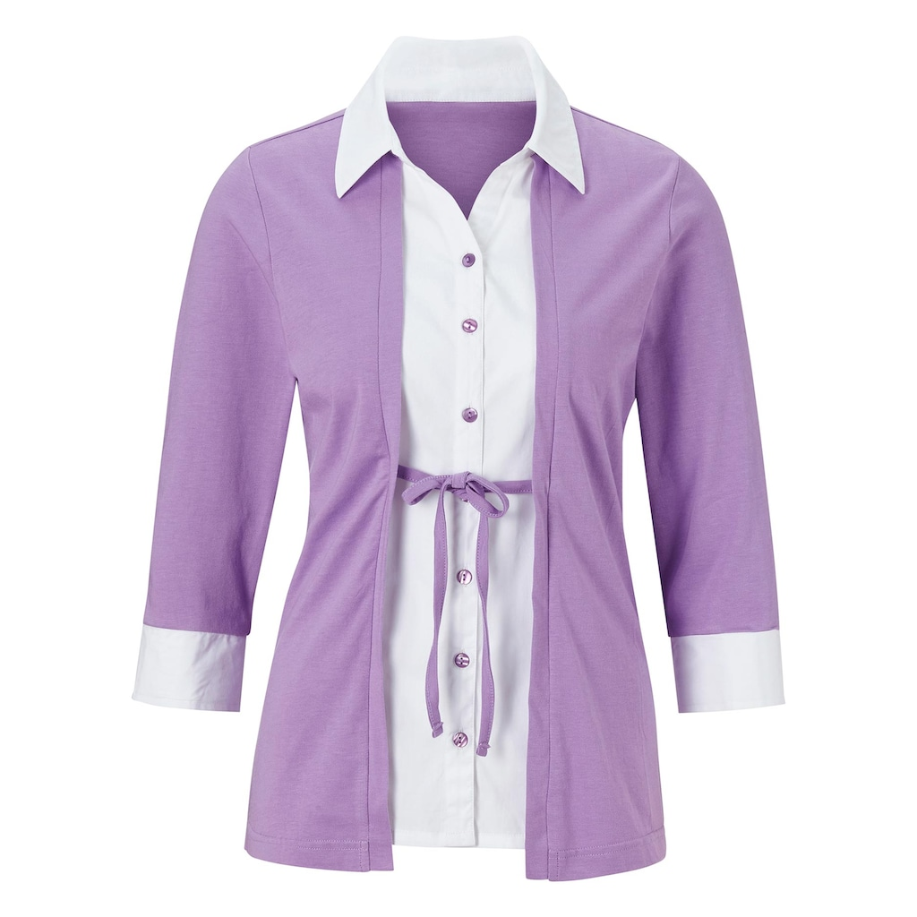 Casual Looks 2-in-1-Shirt