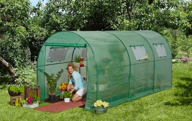 Gewächshaus für den Garten
