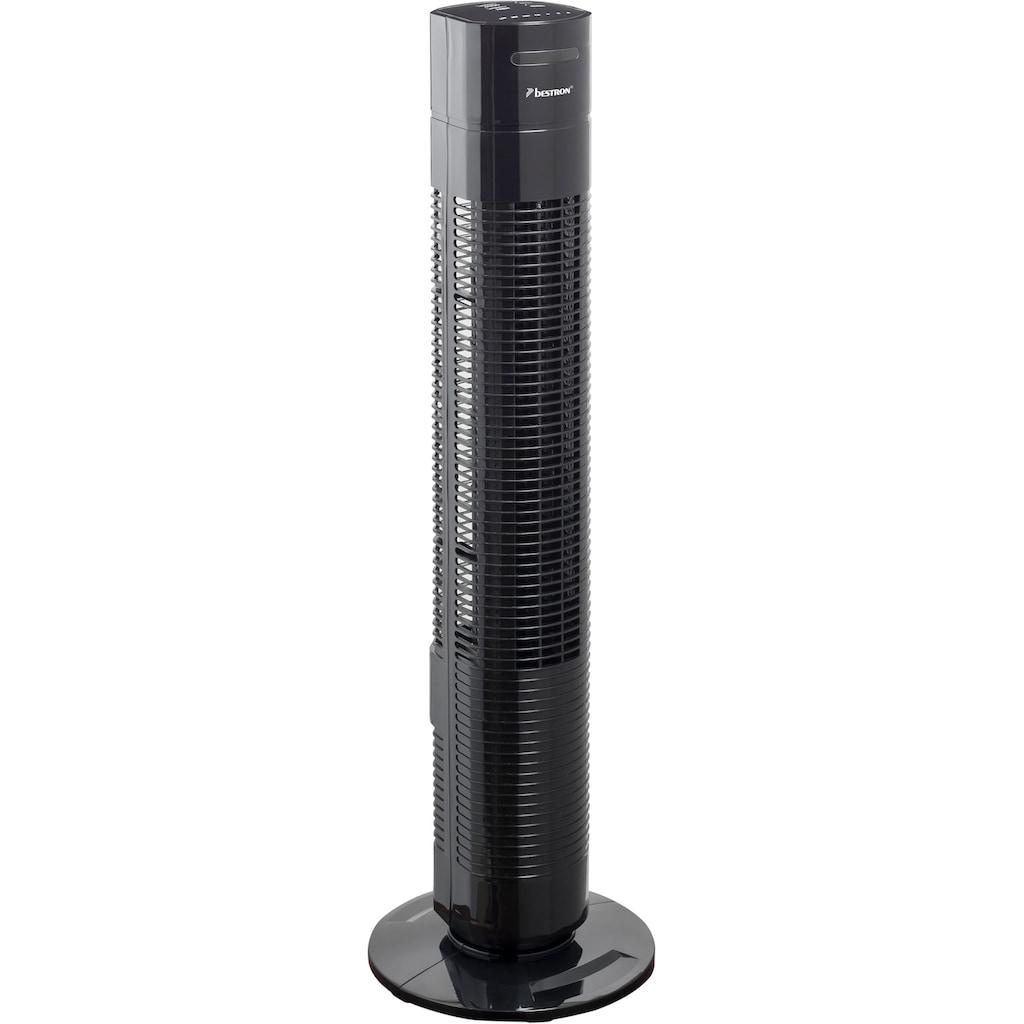 bestron Turmventilator »AFT770ZRC«, mit Schwenkfunktion, Timer und Fernbedienung, Höhe: 78 cm