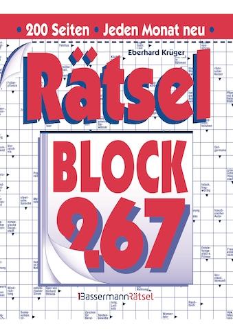 Buch »Rätselblock 267 (5 Exemplare à 2,99 EUR) / Eberhard Krüger« kaufen