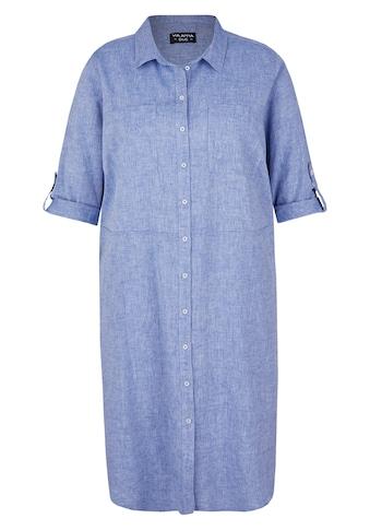 VIA APPIA DUE Hemdblusenkleid, mit Ziertaschen kaufen