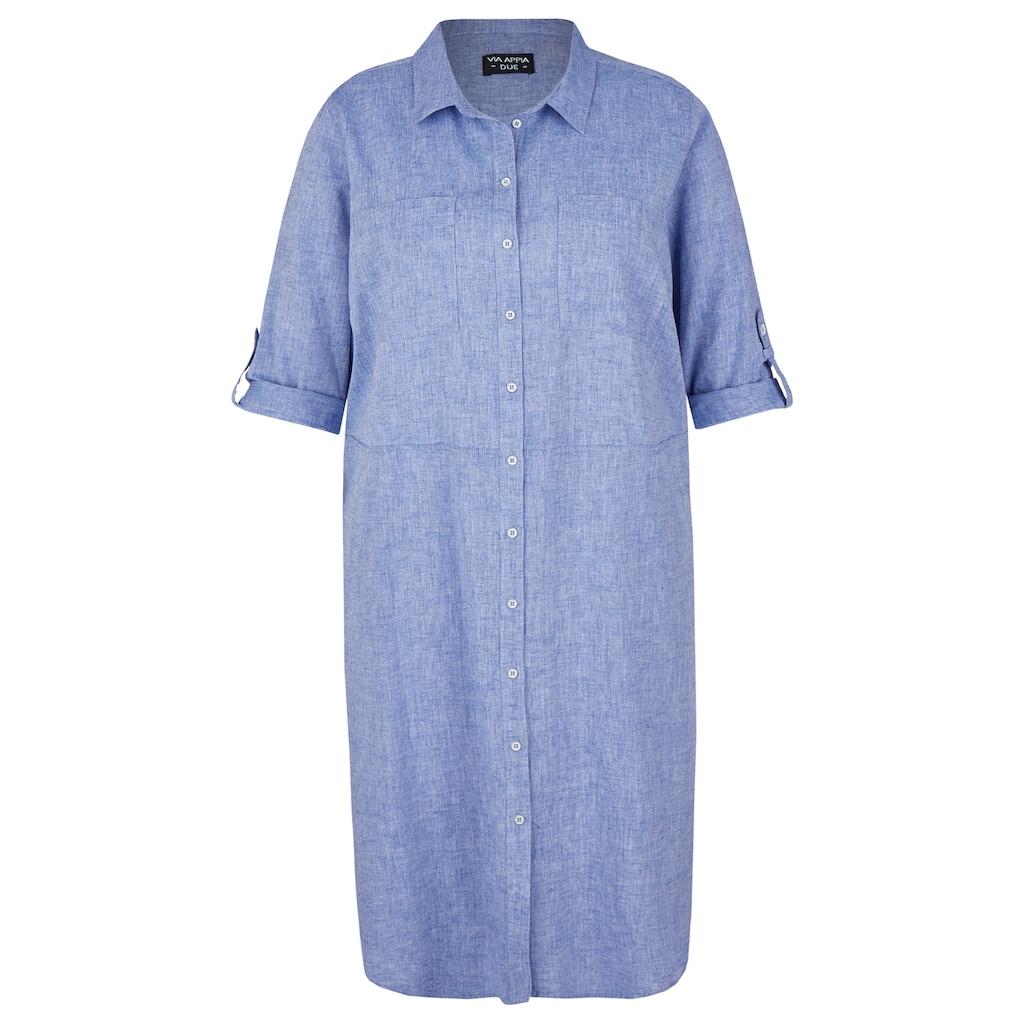 VIA APPIA DUE Hemdblusenkleid, mit Ziertaschen