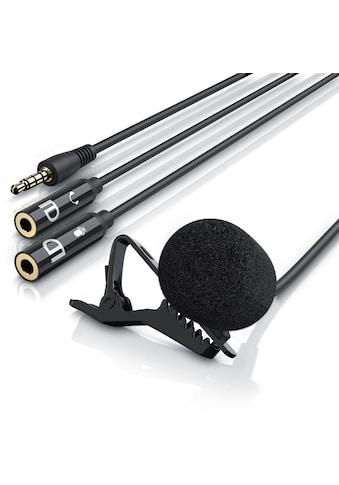 LIAM&DAAN Ansteckmikrofon mit Popschutz für Smartphone & Tablet »Lavalier Mikrofon« kaufen
