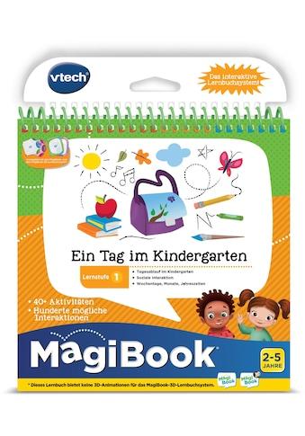Vtech® Buch »MagiBook Lernstufe 1 - Ein Tag im Kindergarten« kaufen