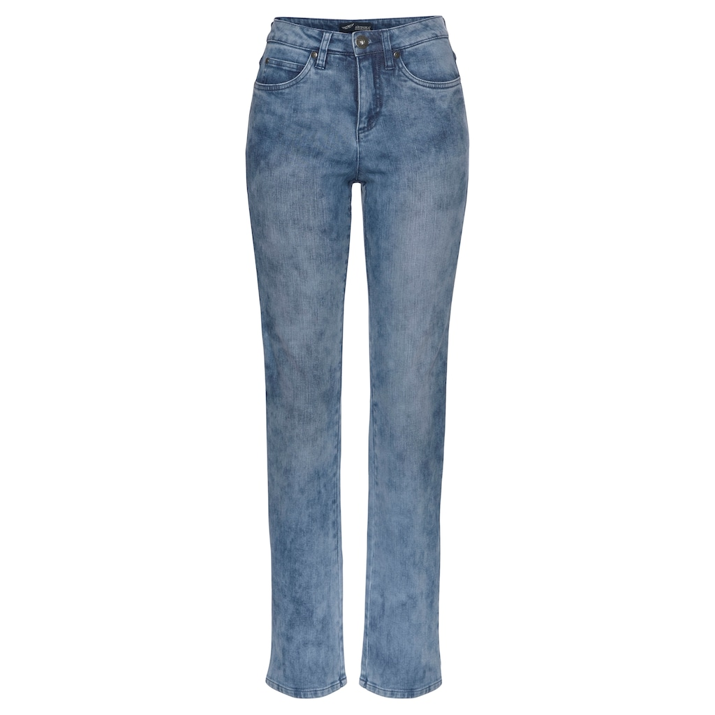 Arizona Gerade Jeans »Comfort-Fit«, Moonwashed Jeans