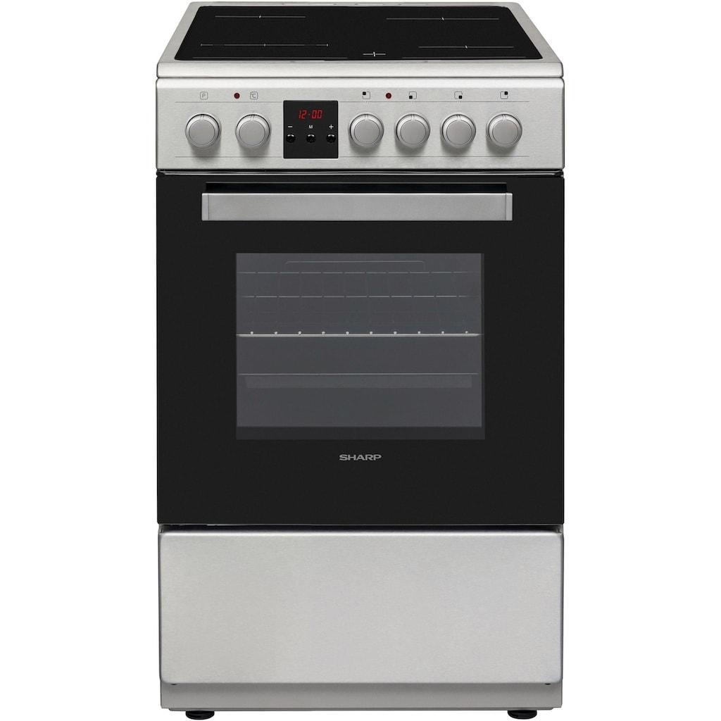 Sharp Elektro-Standherd »KF-56VDD19I-DE«, KF-56VDD19I-DE