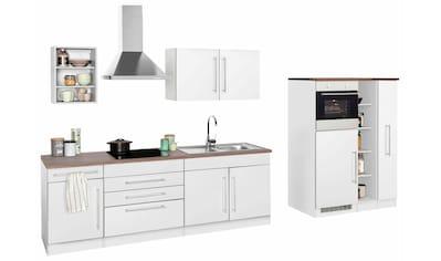 HELD MÖBEL Küchenzeile »Samos«, mit E - Geräten, Breite 350 cm kaufen