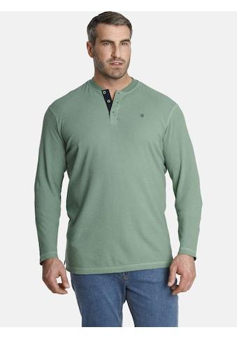 Charles Colby Sweatshirt »EARL DELVIN«, mit verzierter Knopfleiste kaufen