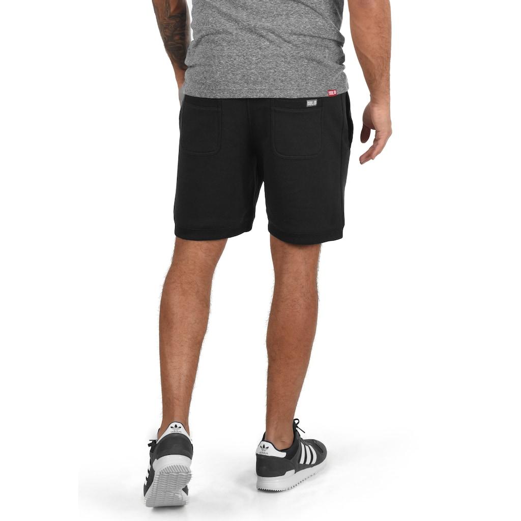 Solid Sweatshorts »BennShorts«, kurze Hose mit breiten Kontrastkordeln