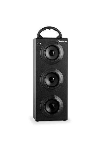 Auna Bluetooth Lautsprecher Radio USB SD AUX UKW MP3 Akkubetrieb »Beachboy XXL« kaufen