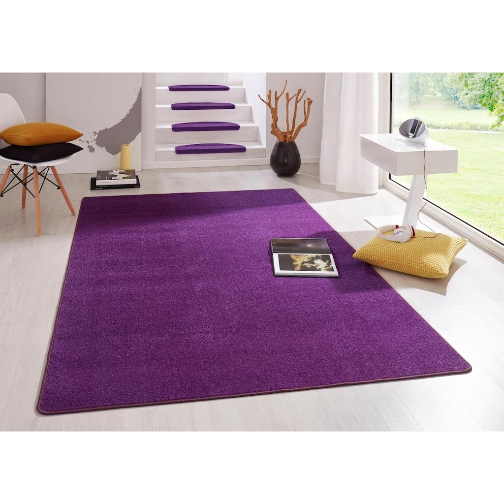 HANSE Home Teppich »Fancy«, rechteckig, 7 mm Höhe, Kurzflor, ringsum gekettelt, Wohnzimmer