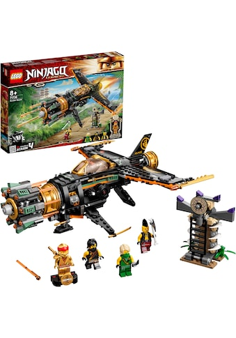 LEGO® Konstruktionsspielsteine »Coles Felsenbrecher (71736), LEGO® NINJAGO®«, (449... kaufen