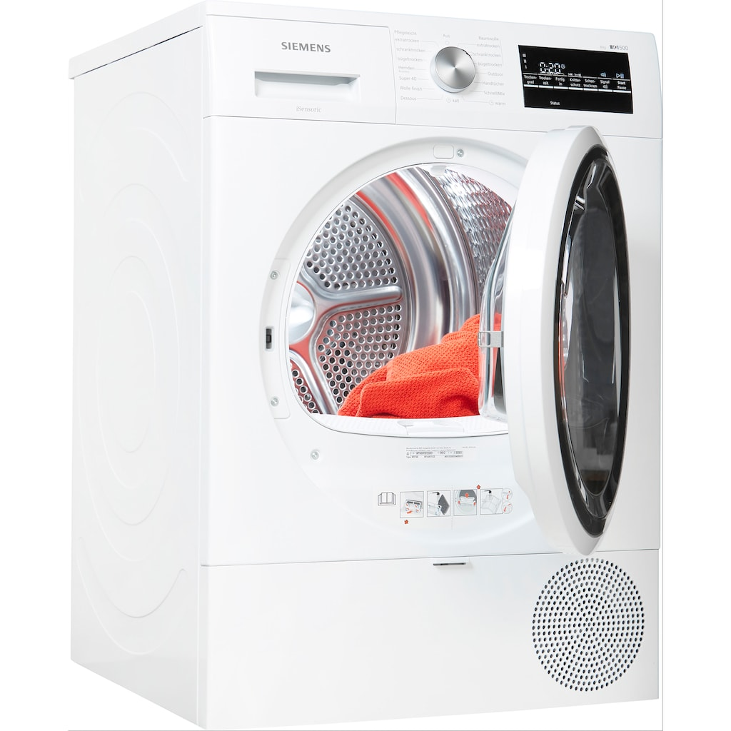 SIEMENS Wärmepumpentrockner »WT45RTECO«, iQ500, 8 kg