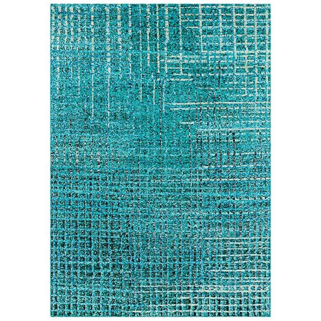 Arte Espina Teppich »Topaz 5400«, rechteckig, 13 mm Höhe, handgeknüpft, mit hohem Seidenanteil, Wohnzimmer