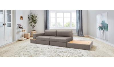 170QM Sofa »Familienzeit«, Modulsofa, Module auch einzeln, unendlich erweiterbar,... kaufen