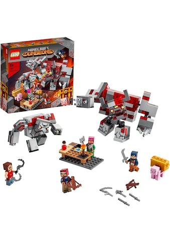 LEGO® Konstruktionsspielsteine »Das Redstone-Kräftemessen (21163), LEGO® Minecraft™«,... kaufen