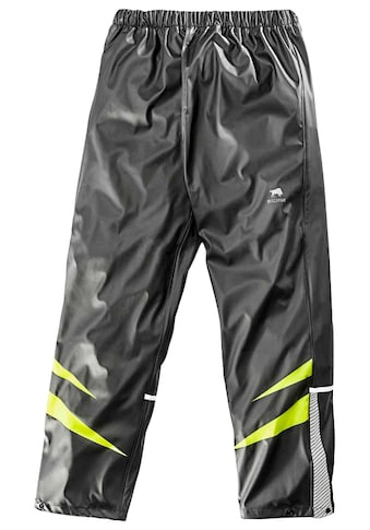 BULLSTAR Regenhose »Ultra«, PU Bundhose, schwarz/lime, Gr. L  -  XXXL kaufen