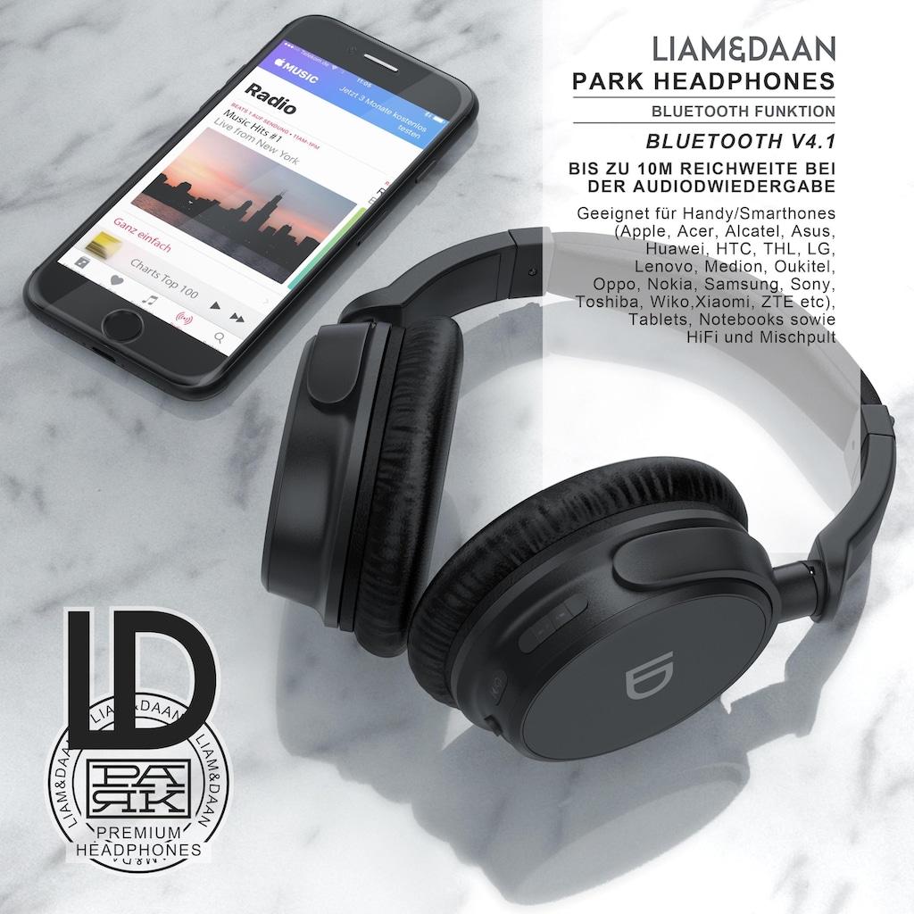 LIAM&DAAN kabellose Bluetooth On-Ear Kopfhörer
