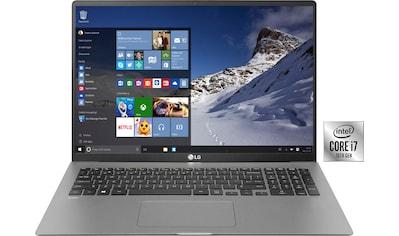 LG gram 17 Notebook (43,18 cm / 17 Zoll, Intel,Core i7, 1000 GB SSD) kaufen