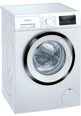 SIEMENS Waschmaschine »WM14N128«, WM14N128, 8 kg, 1400 U/min kaufen